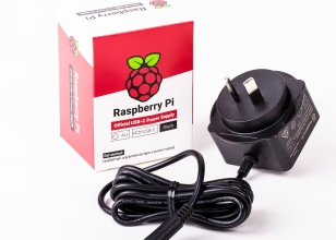 OFFICIAL Raspberry PI 4 AU POWER SUPPLY Black