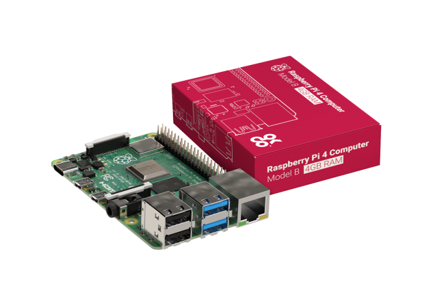 A product image for RASPBERRY PI 4 MODEL B – 4GB