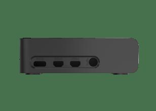 OKdo Raspberry Pi 4 Slide Case – Black