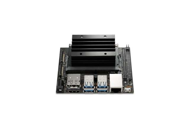 A product image for NVIDIA® Jetson Nano 4GB Development Kit
