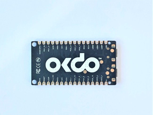 A product image for OKdo E1 Development Board
