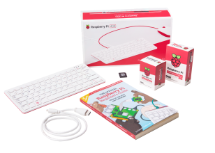 Raspberry Pi 400 All-in-One Personal Computer Kit - US Keyboard Layout