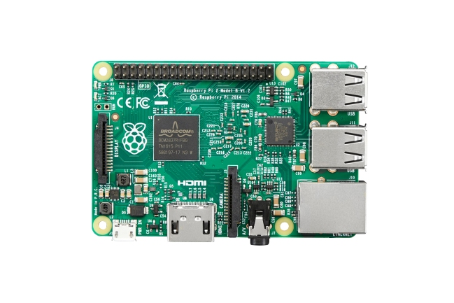 A product image for RASPBERRY PI 2 MODEL B V1.2