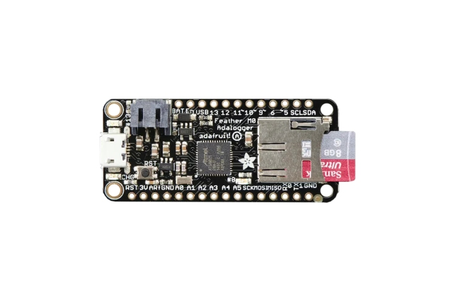 A product image for Adafruit Feather M0 Adalogger – 2796