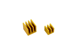 Raspberry Pi Heat Sink Kit - Gold
