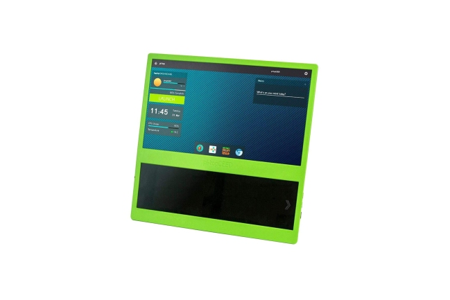 A product image for Pi-Top CEED Raspberry Pi Desktop Display – Green