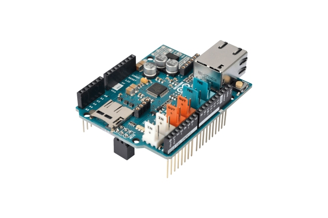 A product image for Arduino Ethernet Shield 2
