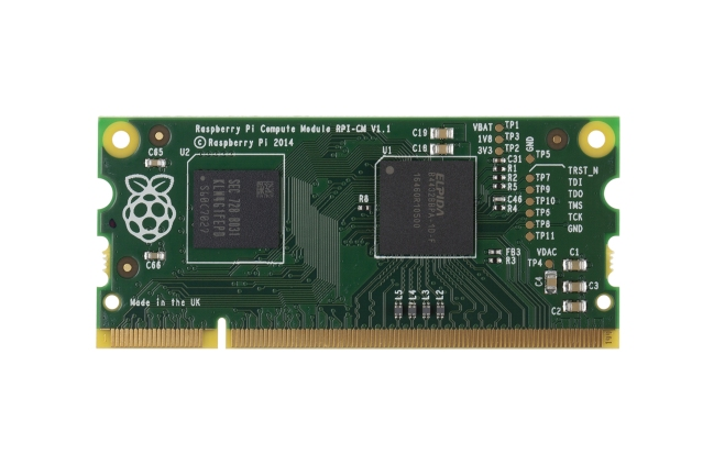 A product image for 'RASPBERRY PI COMPUTE MODULE 1