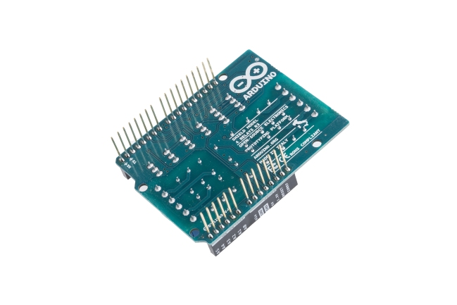A product image for Arduino 4 Relays Shield