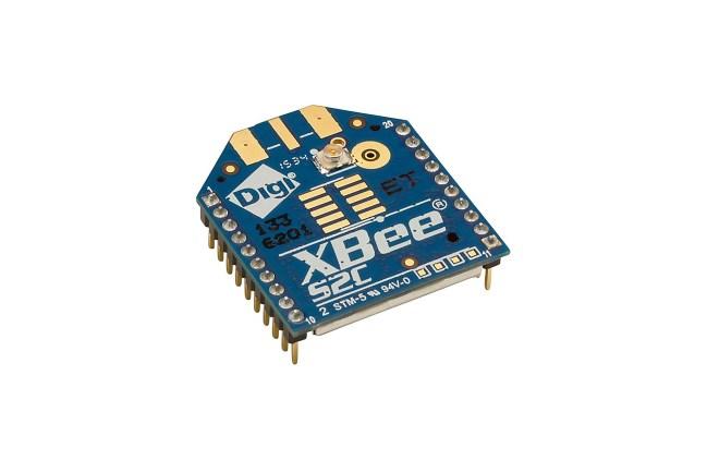 A product image for XBee Zigbee TH RF Module U.Fl Antenna