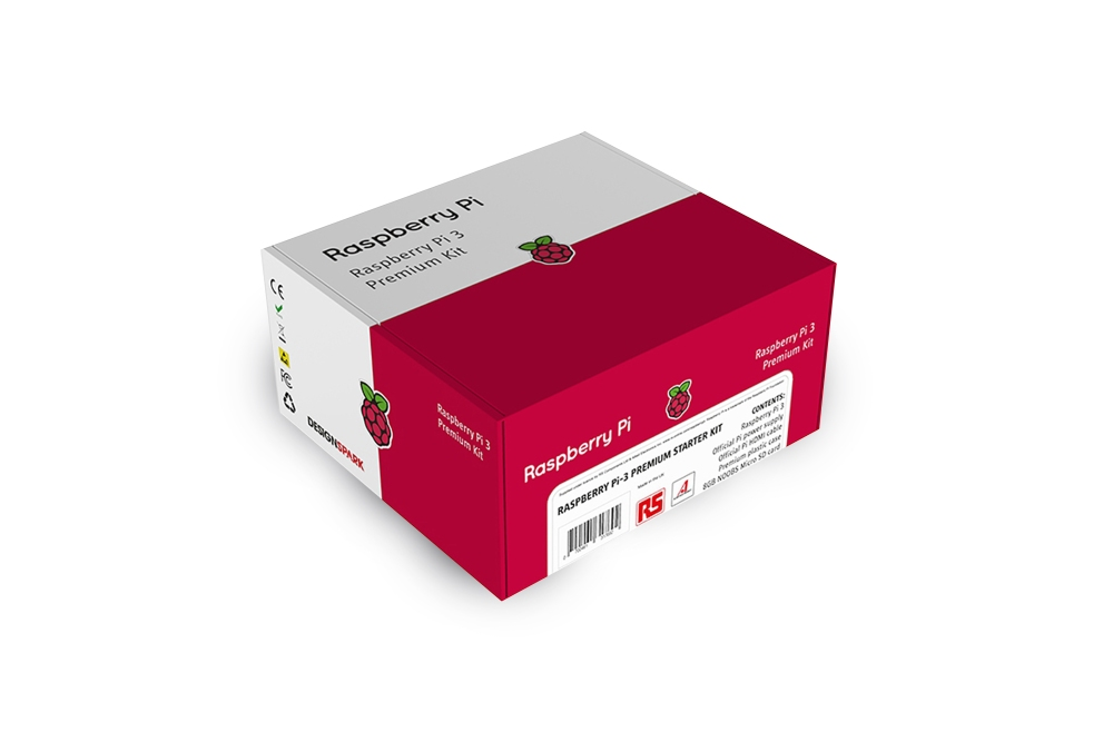 Raspberry Pi 3 Model B+ Premium Kit