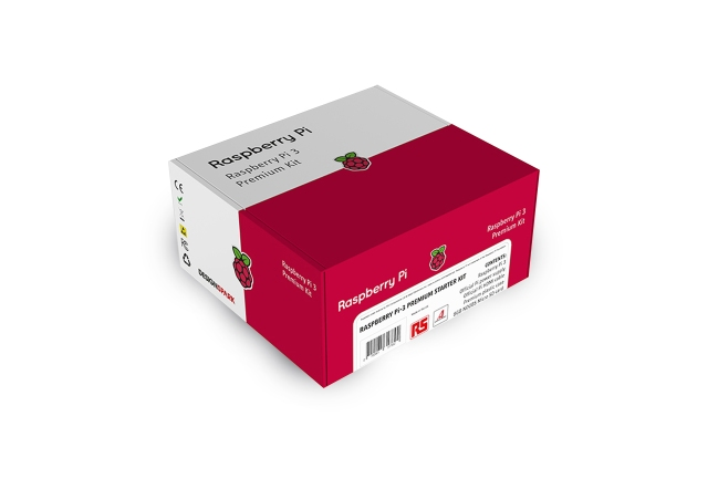 A product image for Raspberry Pi 3 Model B+ Premium Kit