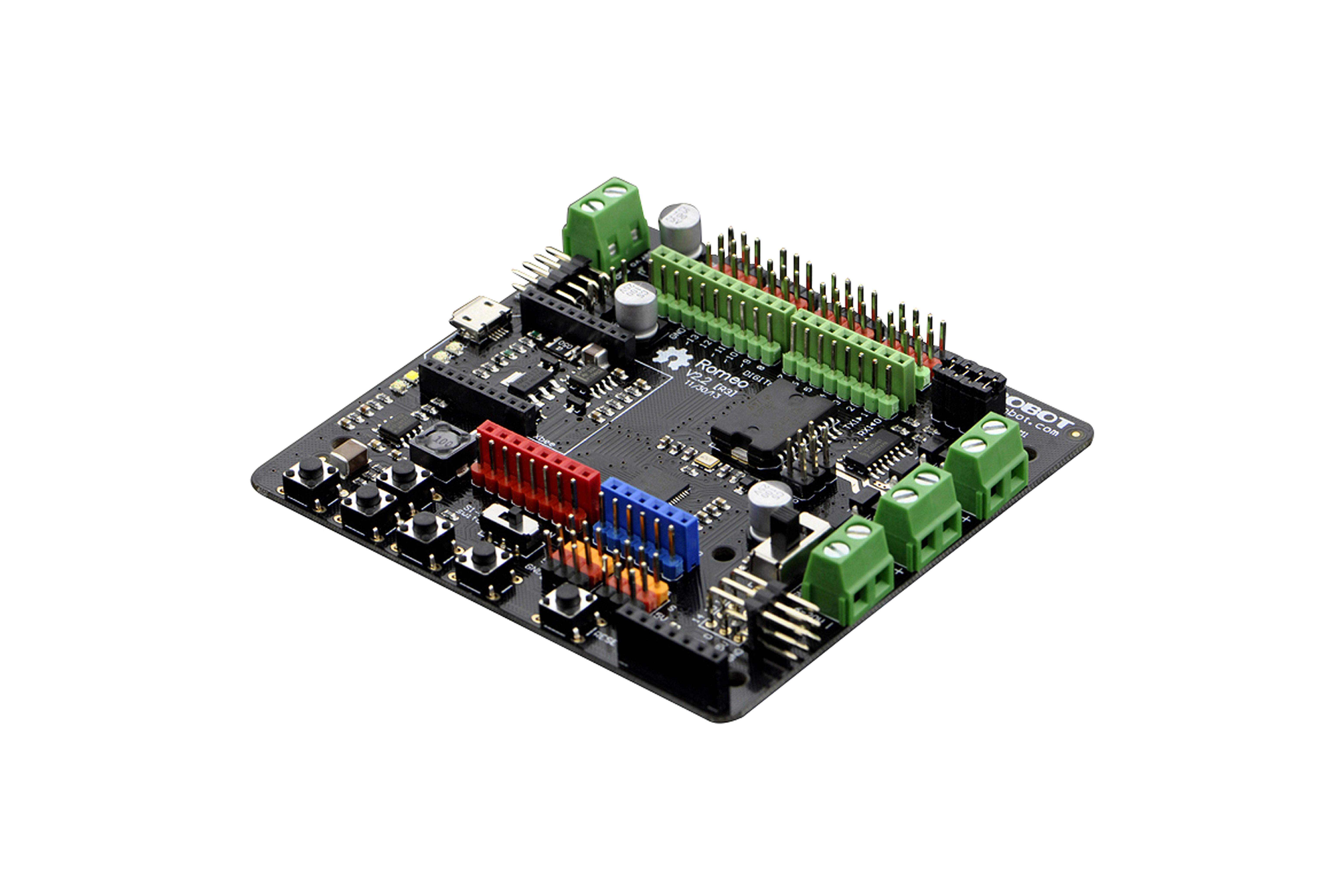 Dfrobot Romeo V2- Robot Board with Motor Driver compatible with Arduino Leonardo