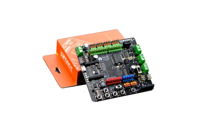 A product image for Dfrobot Romeo V2- Robot Board with Motor Driver compatible with Arduino Leonardo