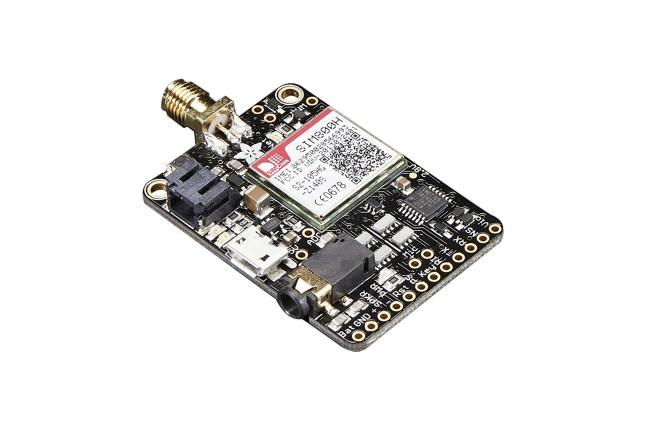 A product image for Adafruit FONA – Mini Cellular GSM Breakout – SMA – v1 – 1963