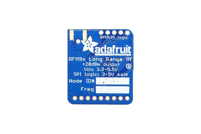 A product image for Adafruit RFM96W LoRa Radio Transceiver Breakout – 433 MHz – 3073