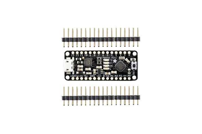 A product image for Adafruit Metro Mini 328 – Arduino-Compatible – 5V 16MHz