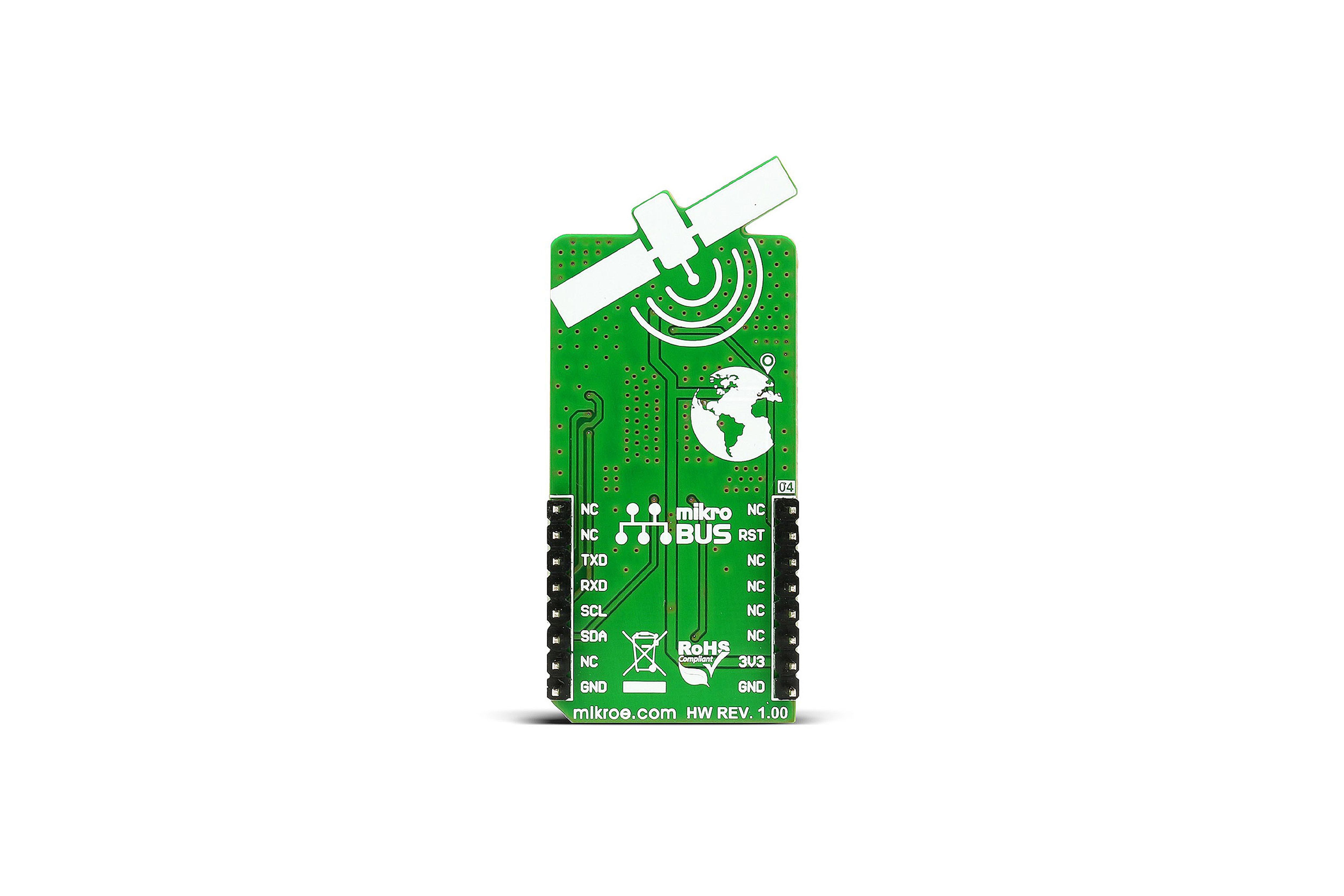 Gnss 4 Click Gps/Glonass Board