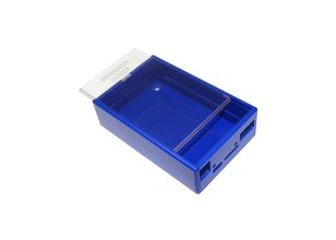 DesignSpark Beaglebone Blue Case, Blue/Clear