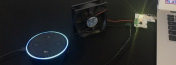 Making an Alexa controlled fan using XinaBox