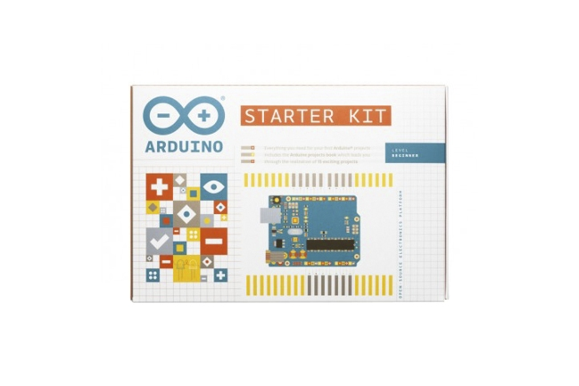 A product image for ARDUINO STARTER KIT German
