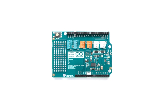 A product image for Arduino 9 Axis Motion Shield