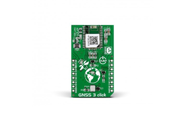 A product image for Mikrobus Add-On Board Gnss3 Click