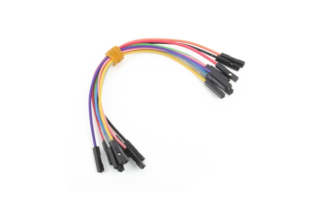 A product image for Wire Jumpers Female To Female 10 Pcs
