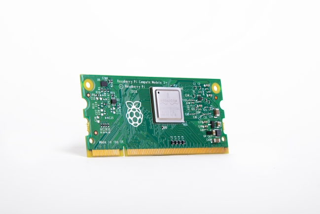 A product image for Raspberry Pi Compute Module 3+ Lite