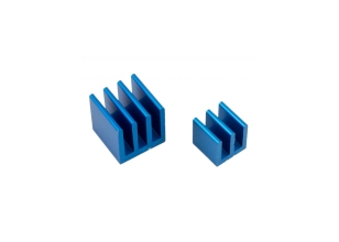 Raspberry Pi Heat Sink Kit - Blue