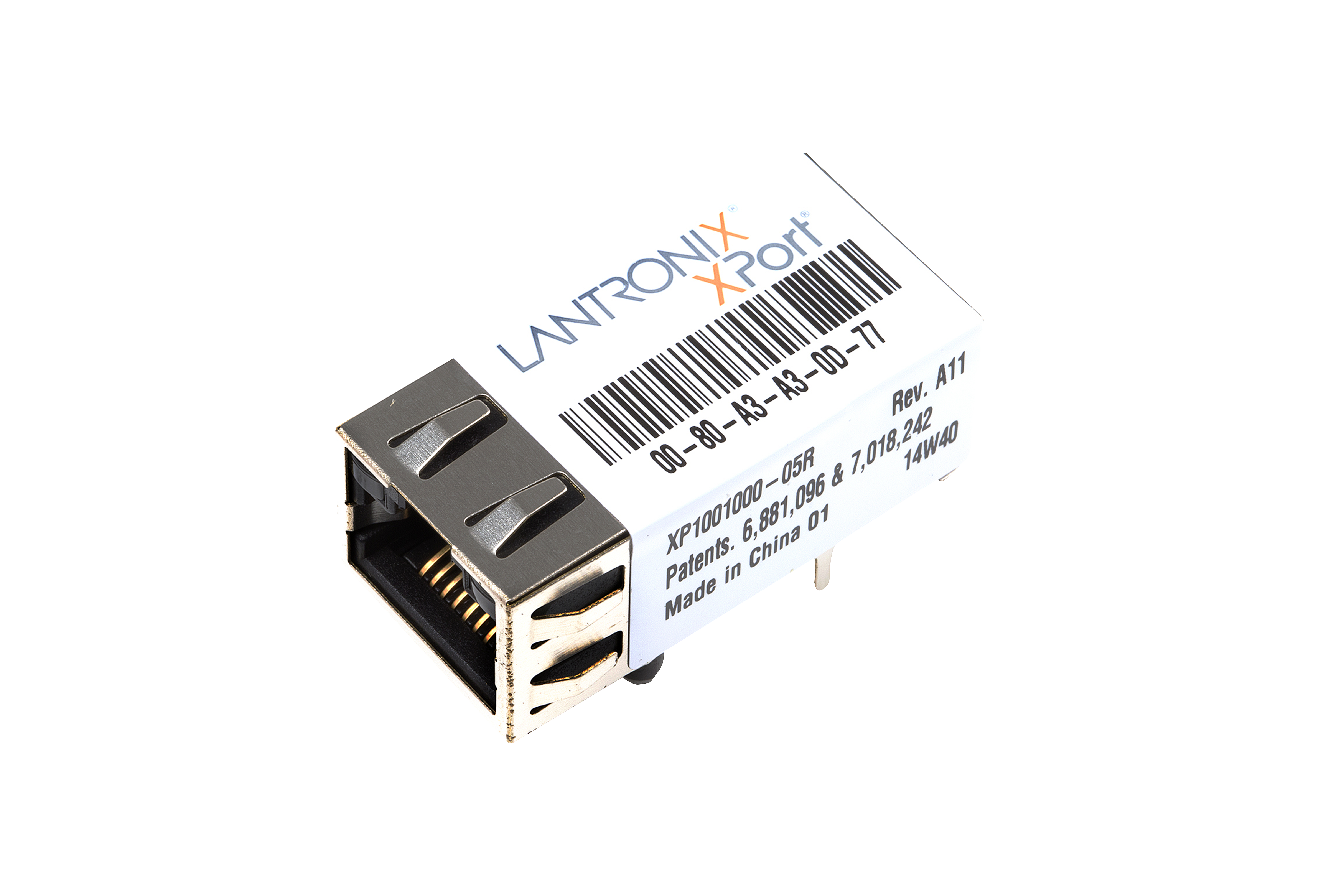 Lantronix Xport Xe Serial To Ethernet Device Server - Xp1001000-05R