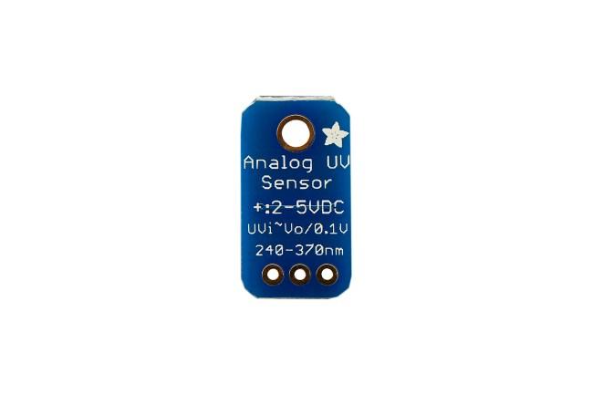 A product image for AdafruitAnalog UV Light Sensor Breakout – GUVA-S12SD