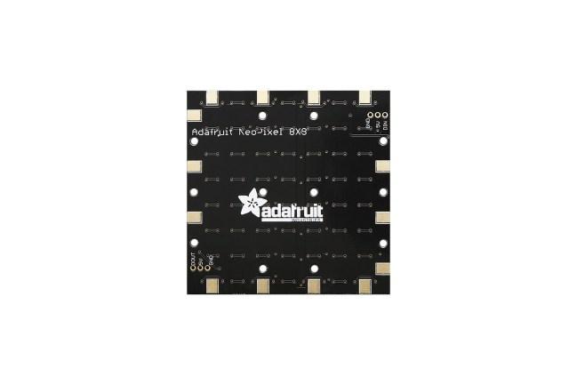 A product image for Adafruit Neopixel Neomatrix – 64 Rgbw – Natural – ~4500K