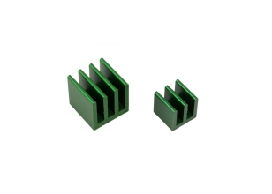 Raspberry Pi Heat Sink Kit - Green