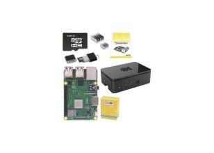 Raspberry Pi 3 Model B+ Starter Kit - 16Gb