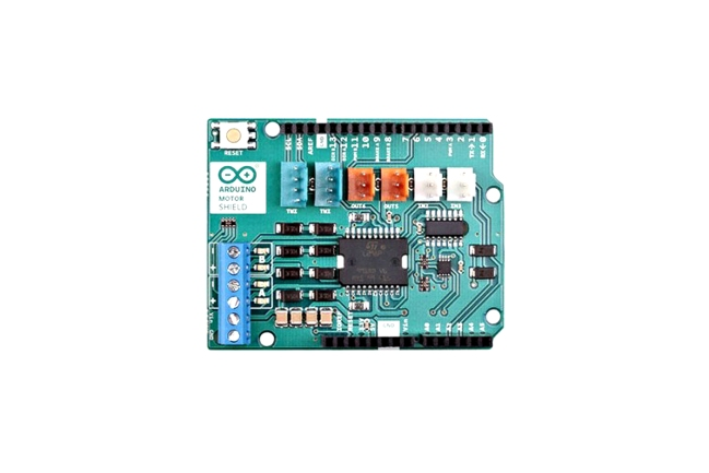 A product image for Arduino Motor Shield Rev3