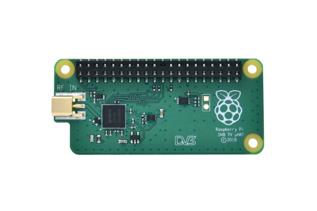 A product image for Raspberry Pi TV HAT