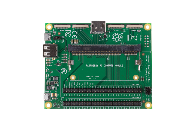 A product image for RASPBERRY PI COMPUTE MODULE 3+ Development Kit