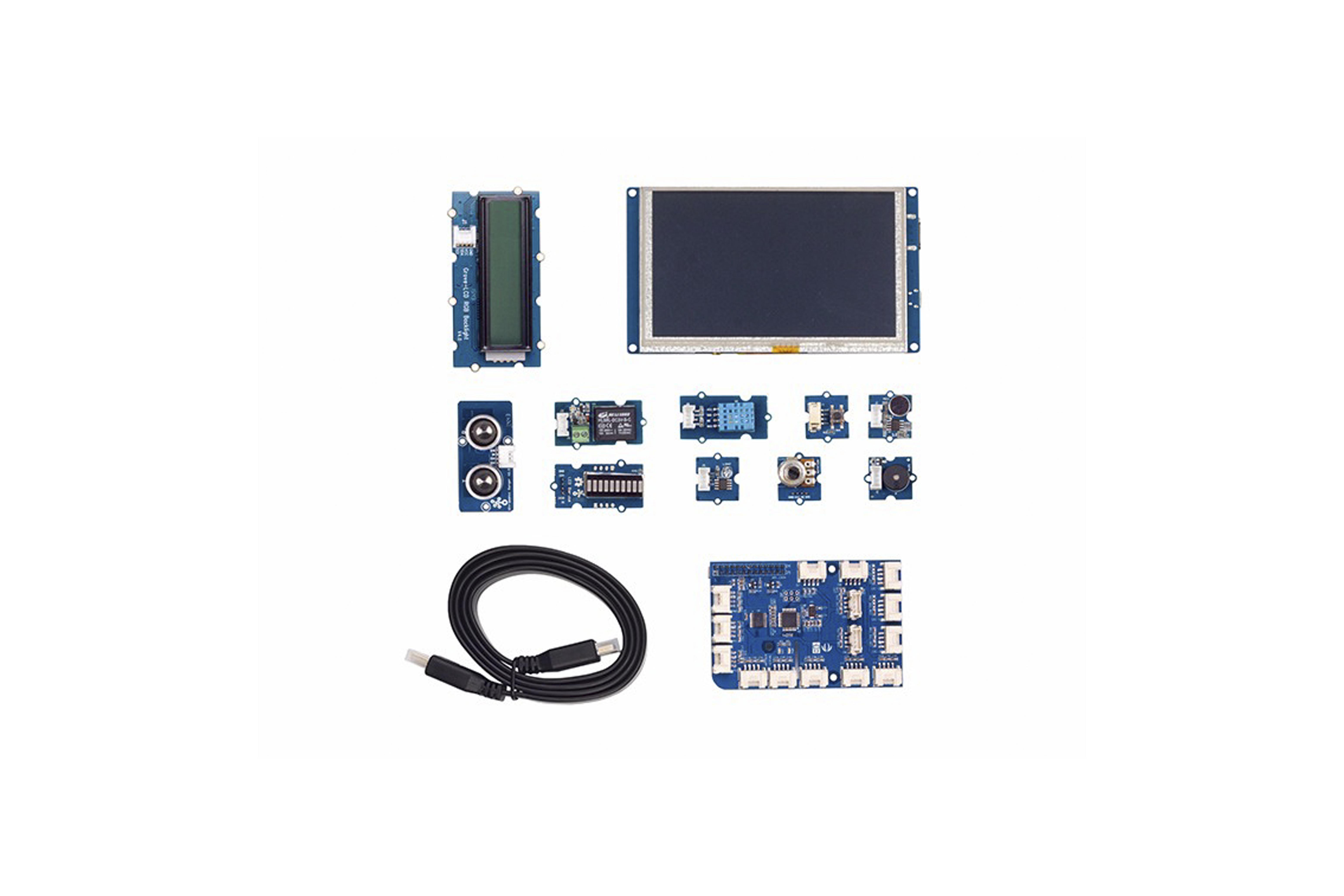 Grove Starter Kit For IoT Based On Raspberry Pi