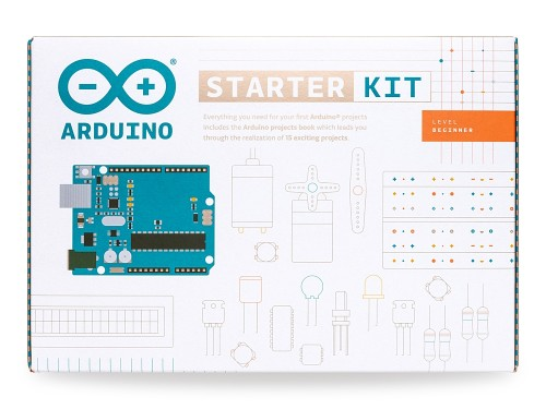 A product image for ARDUINO STARTER KIT English