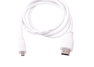 Official Raspberry Pi MicroHDMI Cable - White 1m