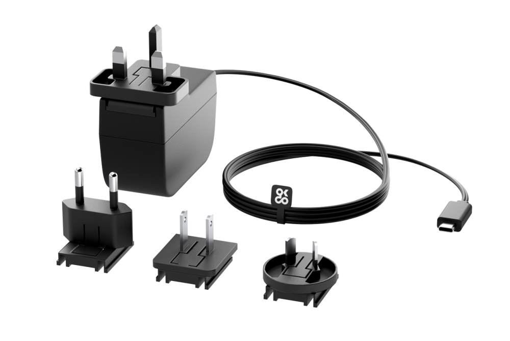 Raspberry Pi 4 Universal Power Supply 3A USB-C - Black
