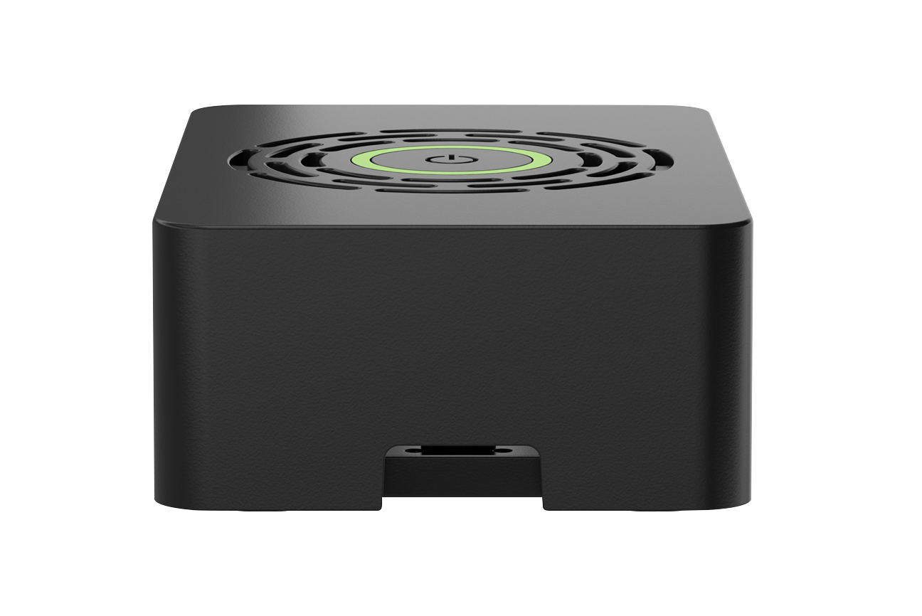 Okdo Raspberry Pi 4 Case With Power Button - Black
