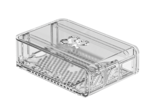 OKdo Raspberry Pi 4 Slide Case - Clear