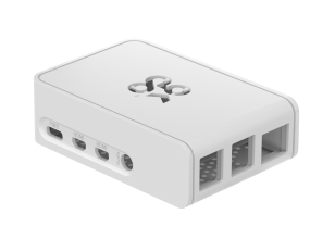OKdo Raspberry Pi 4 Slide Case - White