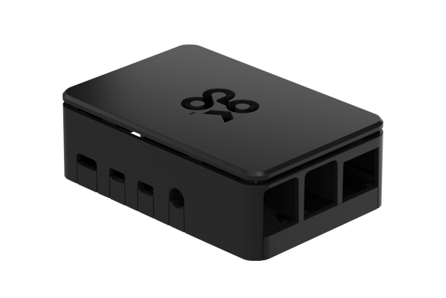 A product image for Okdo Raspberry Pi 4 Case – Black