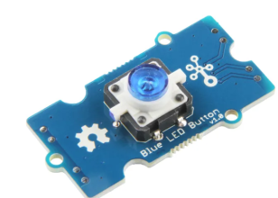 Grove - Blue LED Button - 111020046
