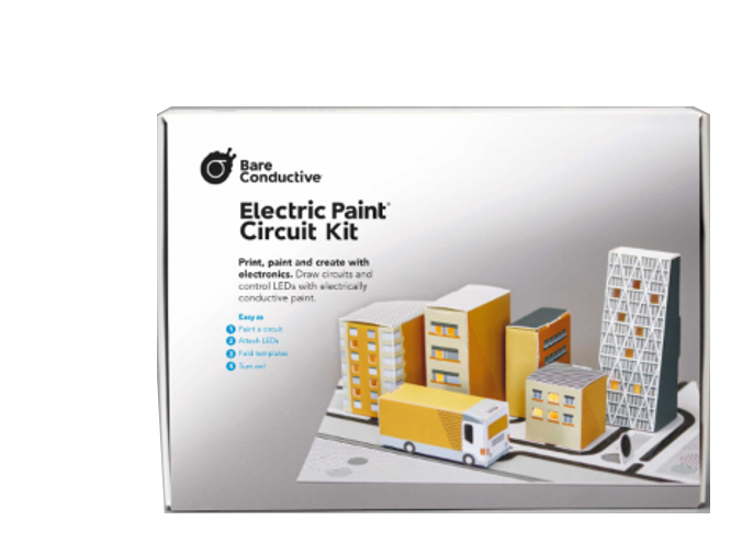Bare Conductive Electric Paint Circuit Kit