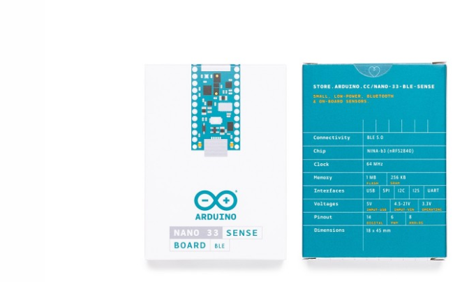 A product image for NANO 33 BLE SENSE