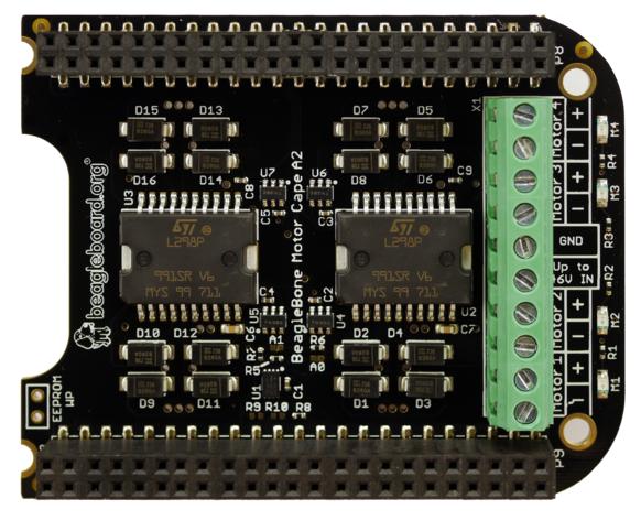 A product image for BeagleBone Motor Cape